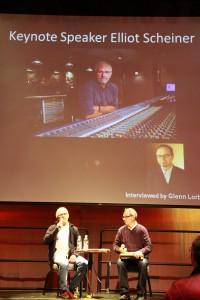 Elliot Scheiner and Glenn Lorbecki at the PNW Studio Summit