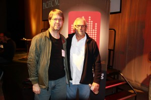 Superstar producer/engineer Elliot Scheiner with Award Winning Mixing Engineer Stephen Sherrard