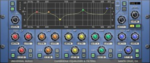 Must Have Tools - UAD Cambridge EQ (High pass filters)